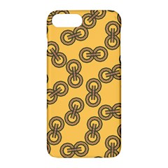 Abstract Shapes Links Design Apple iPhone 7 Plus Hardshell Case