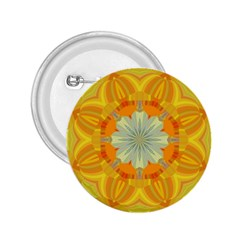 Sunshine Sunny Sun Abstract Yellow 2 25  Buttons