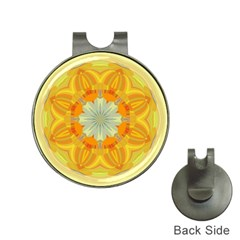 Sunshine Sunny Sun Abstract Yellow Hat Clips With Golf Markers