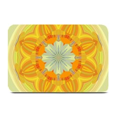 Sunshine Sunny Sun Abstract Yellow Plate Mats