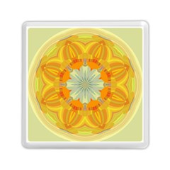 Sunshine Sunny Sun Abstract Yellow Memory Card Reader (square)