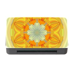 Sunshine Sunny Sun Abstract Yellow Memory Card Reader With Cf