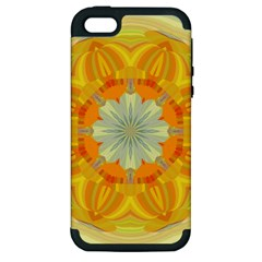 Sunshine Sunny Sun Abstract Yellow Apple Iphone 5 Hardshell Case (pc+silicone)