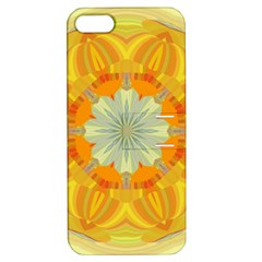 Sunshine Sunny Sun Abstract Yellow Apple iPhone 5 Hardshell Case with Stand