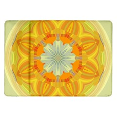 Sunshine Sunny Sun Abstract Yellow Samsung Galaxy Tab 10.1  P7500 Flip Case