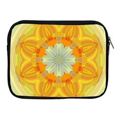 Sunshine Sunny Sun Abstract Yellow Apple Ipad 2/3/4 Zipper Cases