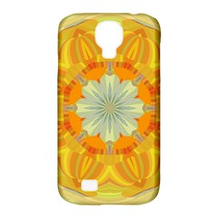 Sunshine Sunny Sun Abstract Yellow Samsung Galaxy S4 Classic Hardshell Case (pc+silicone)
