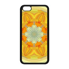 Sunshine Sunny Sun Abstract Yellow Apple Iphone 5c Seamless Case (black)