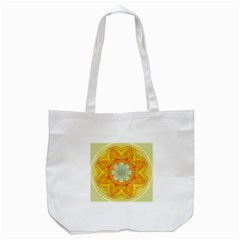 Sunshine Sunny Sun Abstract Yellow Tote Bag (white)