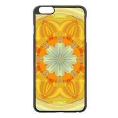 Sunshine Sunny Sun Abstract Yellow Apple iPhone 6 Plus/6S Plus Black Enamel Case
