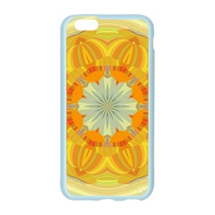 Sunshine Sunny Sun Abstract Yellow Apple Seamless iPhone 6/6S Case (Color)
