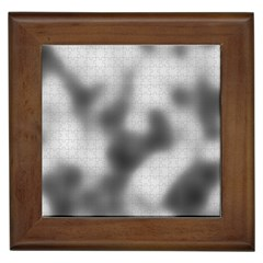 Puzzle Grey Puzzle Piece Drawing Framed Tiles