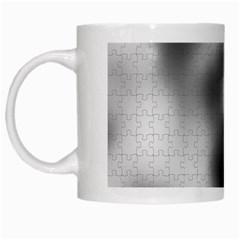 Puzzle Grey Puzzle Piece Drawing White Mugs