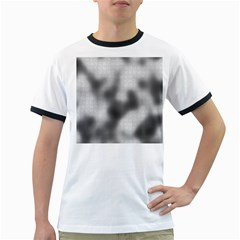 Puzzle Grey Puzzle Piece Drawing Ringer T Shirts