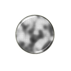 Puzzle Grey Puzzle Piece Drawing Hat Clip Ball Marker (4 Pack)