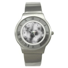 Puzzle Grey Puzzle Piece Drawing Stainless Steel Watch