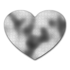 Puzzle Grey Puzzle Piece Drawing Heart Mousepads