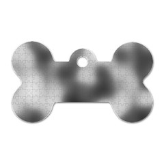 Puzzle Grey Puzzle Piece Drawing Dog Tag Bone (one Side)