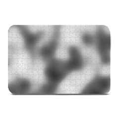 Puzzle Grey Puzzle Piece Drawing Plate Mats