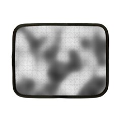 Puzzle Grey Puzzle Piece Drawing Netbook Case (Small)
