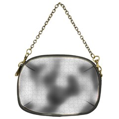 Puzzle Grey Puzzle Piece Drawing Chain Purses (One Side)