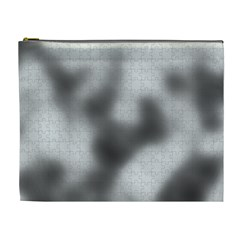 Puzzle Grey Puzzle Piece Drawing Cosmetic Bag (XL)
