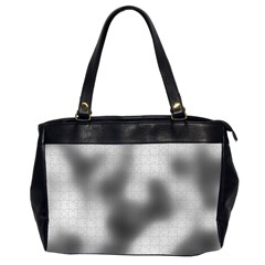 Puzzle Grey Puzzle Piece Drawing Office Handbags (2 Sides)