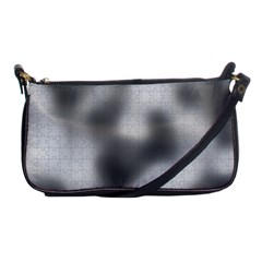Puzzle Grey Puzzle Piece Drawing Shoulder Clutch Bags