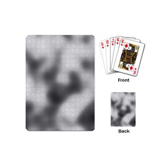 Puzzle Grey Puzzle Piece Drawing Playing Cards (Mini)