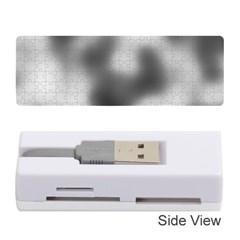 Puzzle Grey Puzzle Piece Drawing Memory Card Reader (Stick)