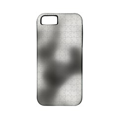 Puzzle Grey Puzzle Piece Drawing Apple iPhone 5 Classic Hardshell Case (PC+Silicone)
