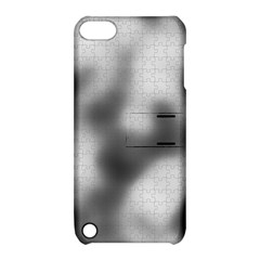 Puzzle Grey Puzzle Piece Drawing Apple Ipod Touch 5 Hardshell Case With Stand
