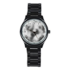 Puzzle Grey Puzzle Piece Drawing Stainless Steel Round Watch