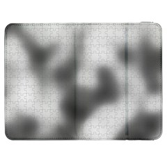 Puzzle Grey Puzzle Piece Drawing Samsung Galaxy Tab 7  P1000 Flip Case