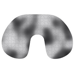 Puzzle Grey Puzzle Piece Drawing Travel Neck Pillows