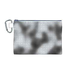 Puzzle Grey Puzzle Piece Drawing Canvas Cosmetic Bag (m)