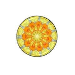 Sunshine Sunny Sun Abstract Yellow Hat Clip Ball Marker