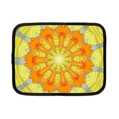 Sunshine Sunny Sun Abstract Yellow Netbook Case (Small)