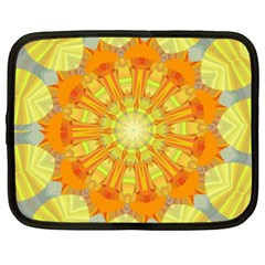 Sunshine Sunny Sun Abstract Yellow Netbook Case (XXL)