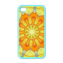 Sunshine Sunny Sun Abstract Yellow Apple iPhone 4 Case (Color)