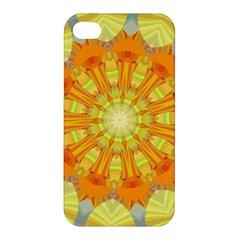 Sunshine Sunny Sun Abstract Yellow Apple Iphone 4/4s Hardshell Case