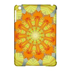 Sunshine Sunny Sun Abstract Yellow Apple Ipad Mini Hardshell Case (compatible With Smart Cover)