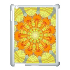 Sunshine Sunny Sun Abstract Yellow Apple Ipad 3/4 Case (white)