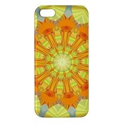 Sunshine Sunny Sun Abstract Yellow Apple iPhone 5 Premium Hardshell Case
