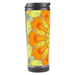 Sunshine Sunny Sun Abstract Yellow Travel Tumbler