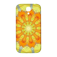 Sunshine Sunny Sun Abstract Yellow Samsung Galaxy S4 I9500/i9505  Hardshell Back Case