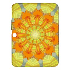Sunshine Sunny Sun Abstract Yellow Samsung Galaxy Tab 3 (10 1 ) P5200 Hardshell Case