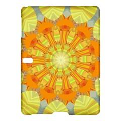 Sunshine Sunny Sun Abstract Yellow Samsung Galaxy Tab S (10.5 ) Hardshell Case