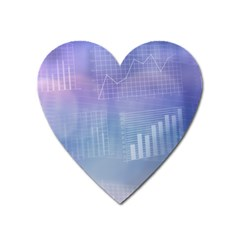 Business Background Blue Corporate Heart Magnet