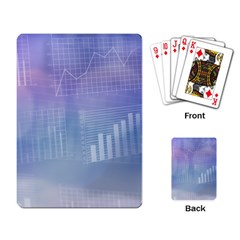 Business Background Blue Corporate Playing Card